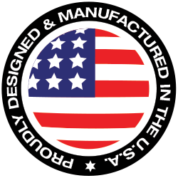 Proudly Designed and Manufactured in the U.S.A.